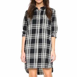 Madewell Emi Double Weave Shirt Dress - XS
